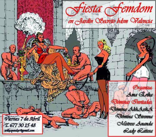 Fiesta Femdom en la Asociación Jardín Secreto (Valencia) @ València | Comunidad Valenciana | España