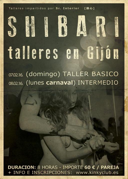 Taller de Shibari en Gijón @ Kinky Club | Gijón | Principado de Asturias | España