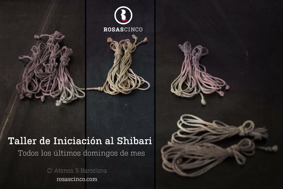 Taller de inciación al shibari en Rosas5 (Barcelona) @ Rosas5 | Barcelona | Catalunya | España
