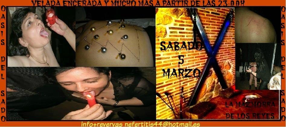 Juegos con Cera y muchó más en el Oasis del Sado (Madrid) @ La Mazmorra de los Reyes | Concepción | Región del Bío Bío | Chile