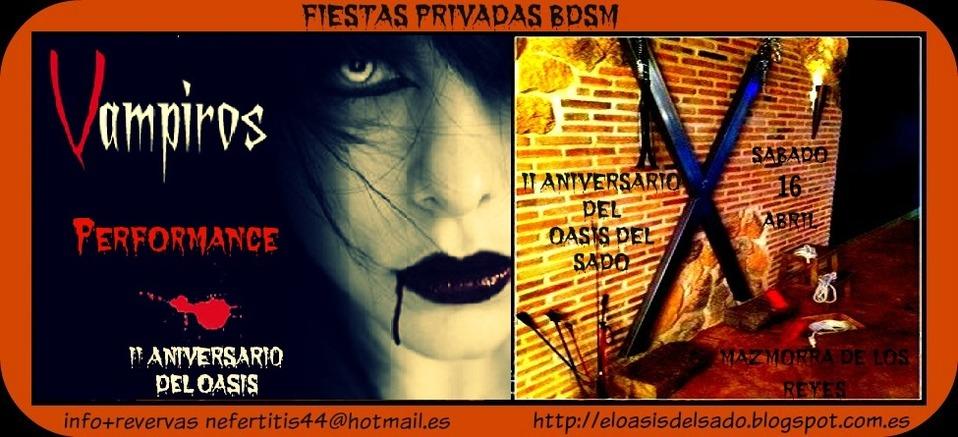 Perfo 'Vampiros' - 2 Aniversario del Oasis del Sado (Madrid) @ La Mazmorra de los Reyes | Concepción | Región del Bío Bío | Chile