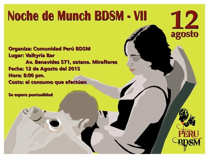 7º Perú BDSM Munch @ Valkyria Bar | Miraflores | Lima | Perú