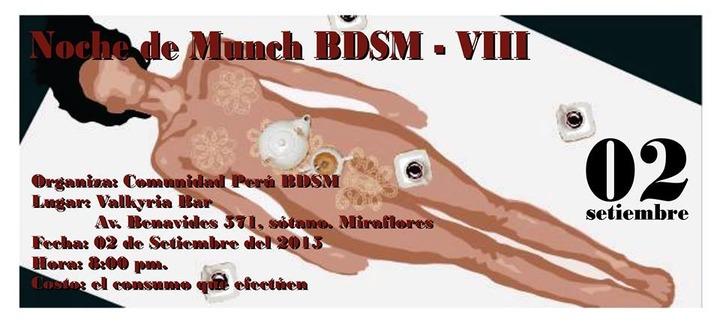 8º Perú BDSM Munch @ Valkyria Bar | Miraflores | Lima | Perú
