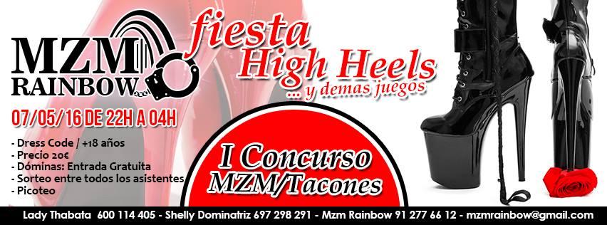 Fiesta High Heels en MZM Rainbow (Madrid) @ Getafe | Comunidad de Madrid | España