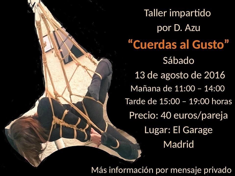 Taller 'Cuerdas al gusto' (D. Azu) en Madrid