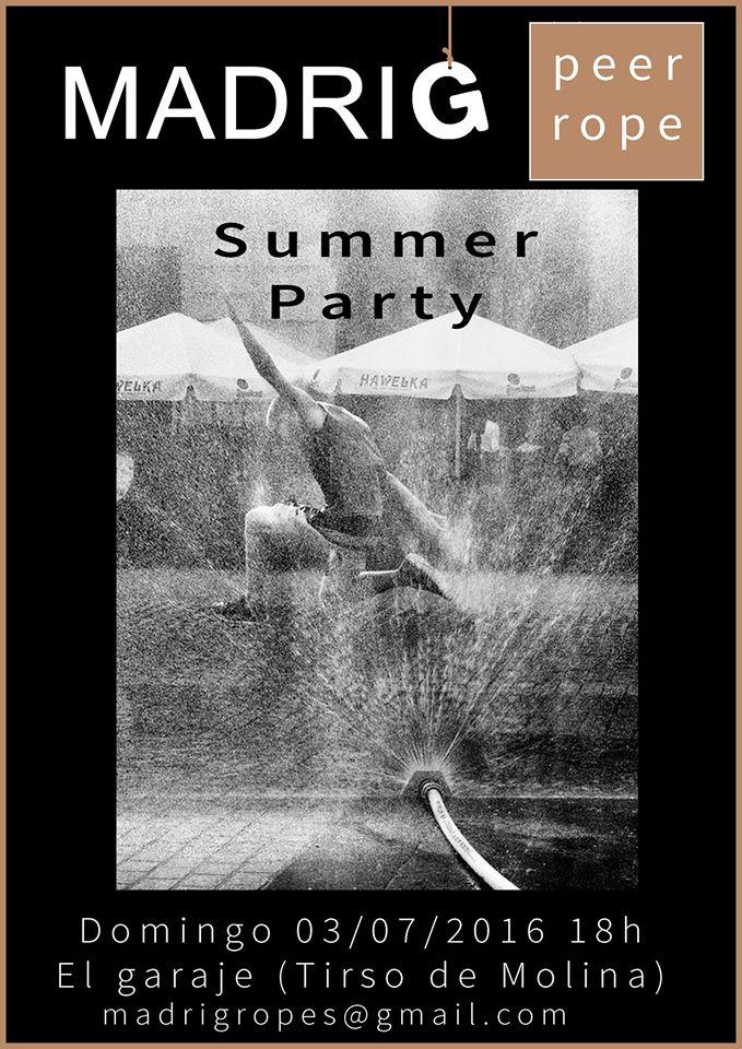 Summer Party en El Garaje