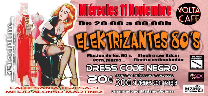 3er Discipline - Elektrizantes 80's en Volta Café Madrid @ Volta Café | Madrid | Comunidad de Madrid | España