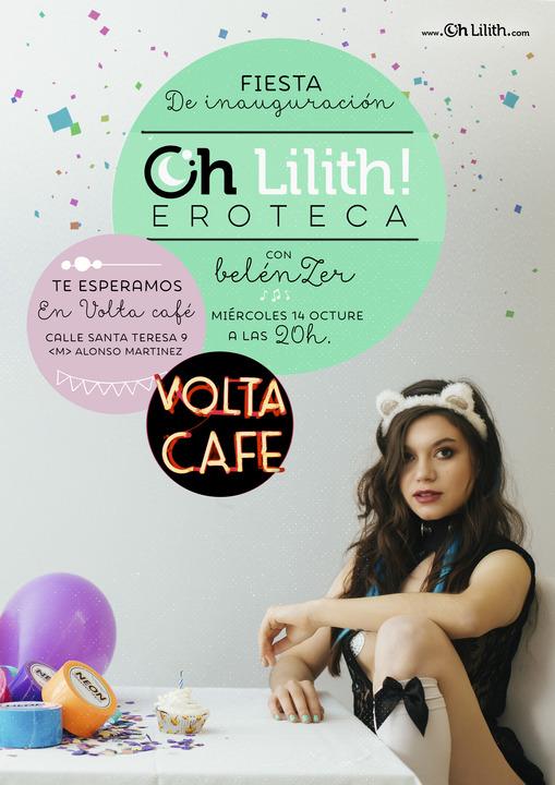 Presentación de la eroteca Oh Lilith! en Volta Café (Madrid) @ Volta Café | Madrid | Comunidad de Madrid | España