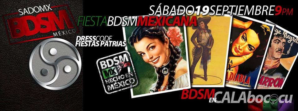 Fiesta BDSM Mexicana de SadoMX (México DF) @ Calabococu | Ciudad de México | Distrito Federal | México
