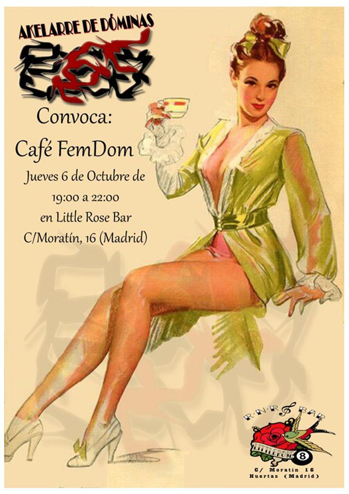 CAFÉ FEMDOM Akelarre de Dóminas en Little Rose Bar (Madrid) @ Akelarre de Dóminas | Madrid | Comunidad de Madrid | España