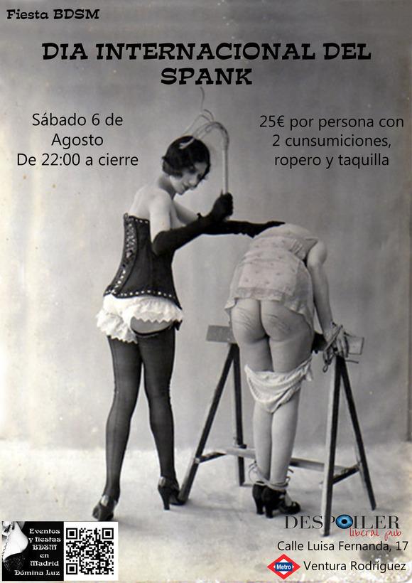 Día internacional del spank en Despoiler (Madrid) @ Despoiler   Madrid   Comunidad de Madrid   España