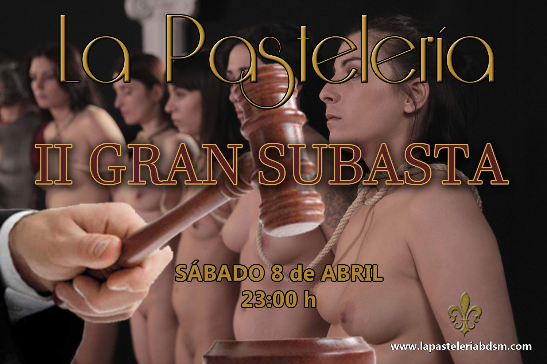 II Subasta de Sumis@s en La Pastelería (Madrid) @ La Pastelería   Madrid   Comunidad de Madrid   España