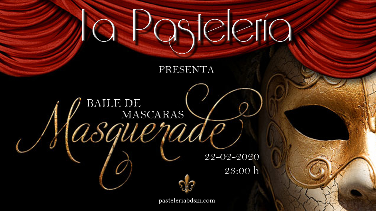 Gran Baile de Máscaras en La Pastelería BDSM (Madrid) @ La Pastelería | Madrid | Comunidad de Madrid | España