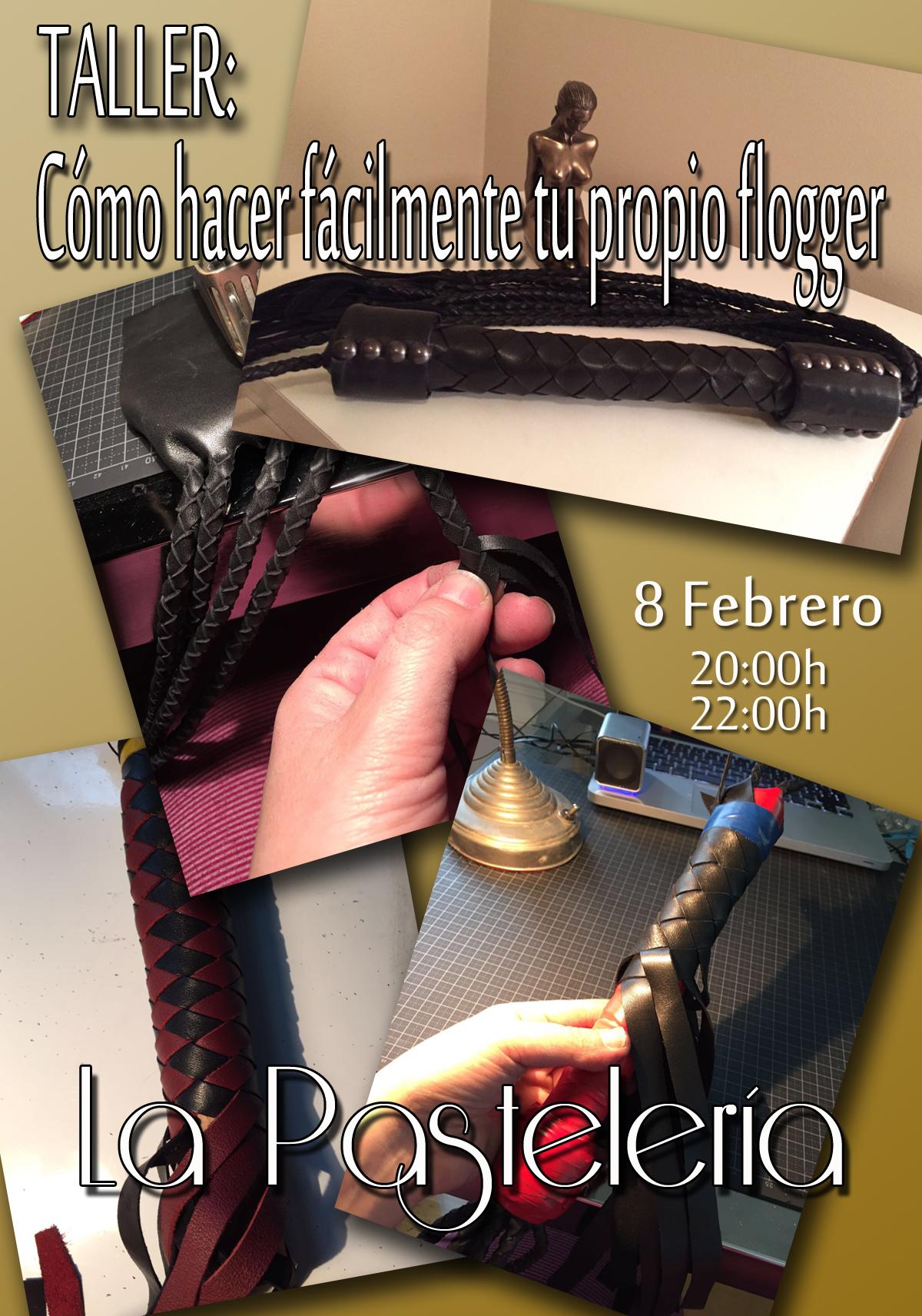 Taller: Cómo hacer fácilmente tu propio flogger en La Pastelería (Madrid) @ La Pastelería | Madrid | Comunidad de Madrid | España