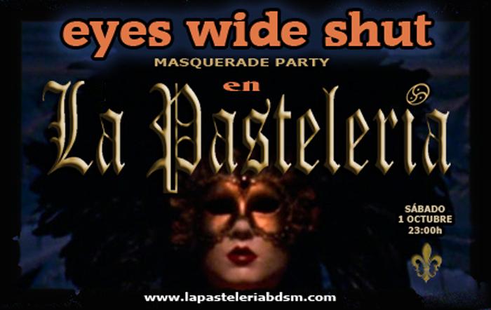 Eyes Wide Shut (Masquerade Party BDSM) en La PasteleríaBDSM (Madrid) @ La Pastelería | Madrid | Comunidad de Madrid | España