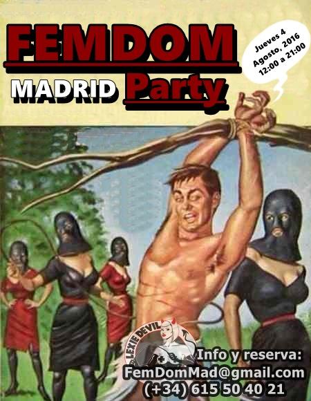 FemDom Party en Madrid @ Studio Demonia