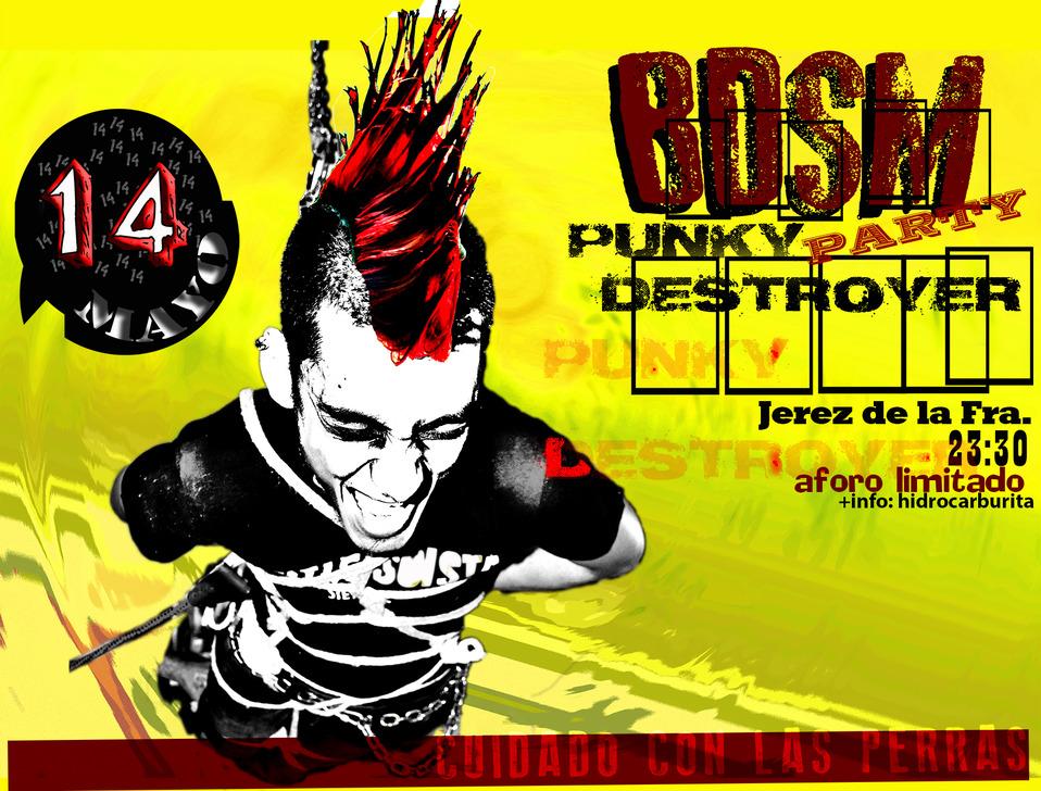 BDSM Punky Destroyer Party en Jerez de la Frontera
