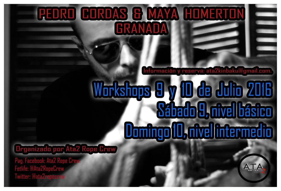 Shibari Workshops Pedro Cordas en Granada