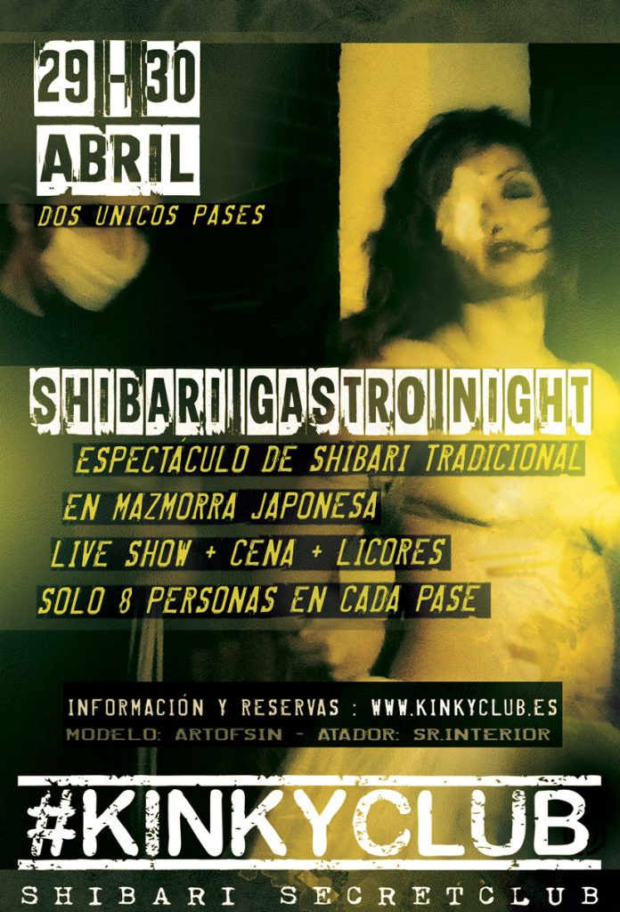 Shibari Gastro Night en Kinky Club (Gijón)