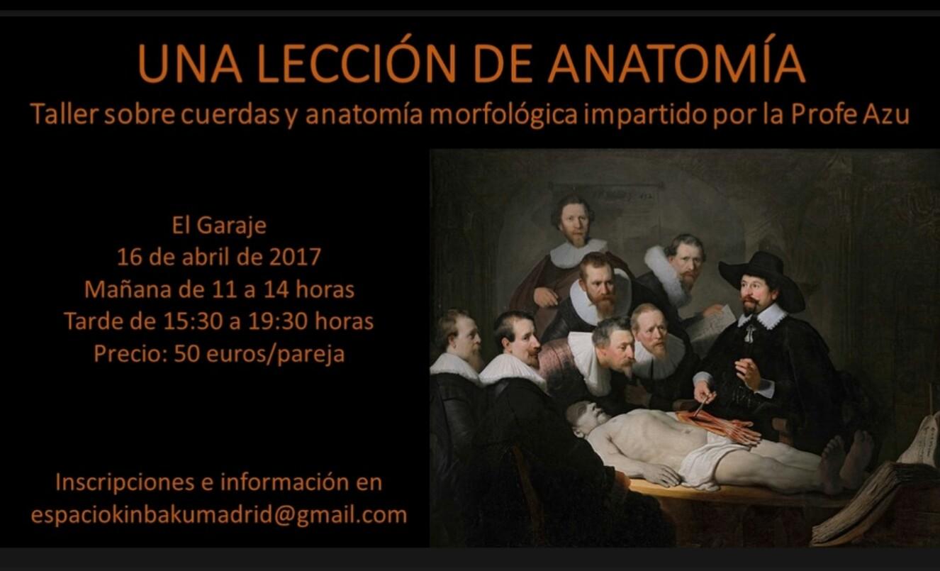 Taller cuerdas y anatomía por Ama Azu - Madrid @ El Garaje