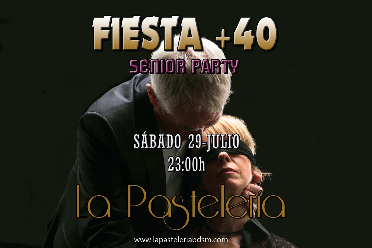 FIESTA + 40 en La PasteleríaBDSM-Madrid @ La Pastelería BDSM | Madrid | Comunidad de Madrid | España