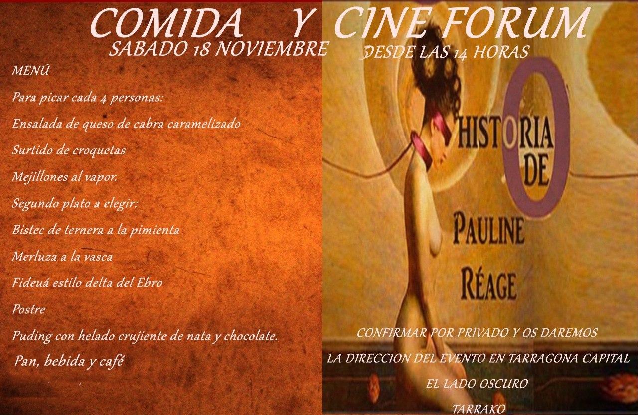 Comida y Cine forum en Tarragona @ El Lado Oscuro Tarrako | Tarragona | Cataluña | España