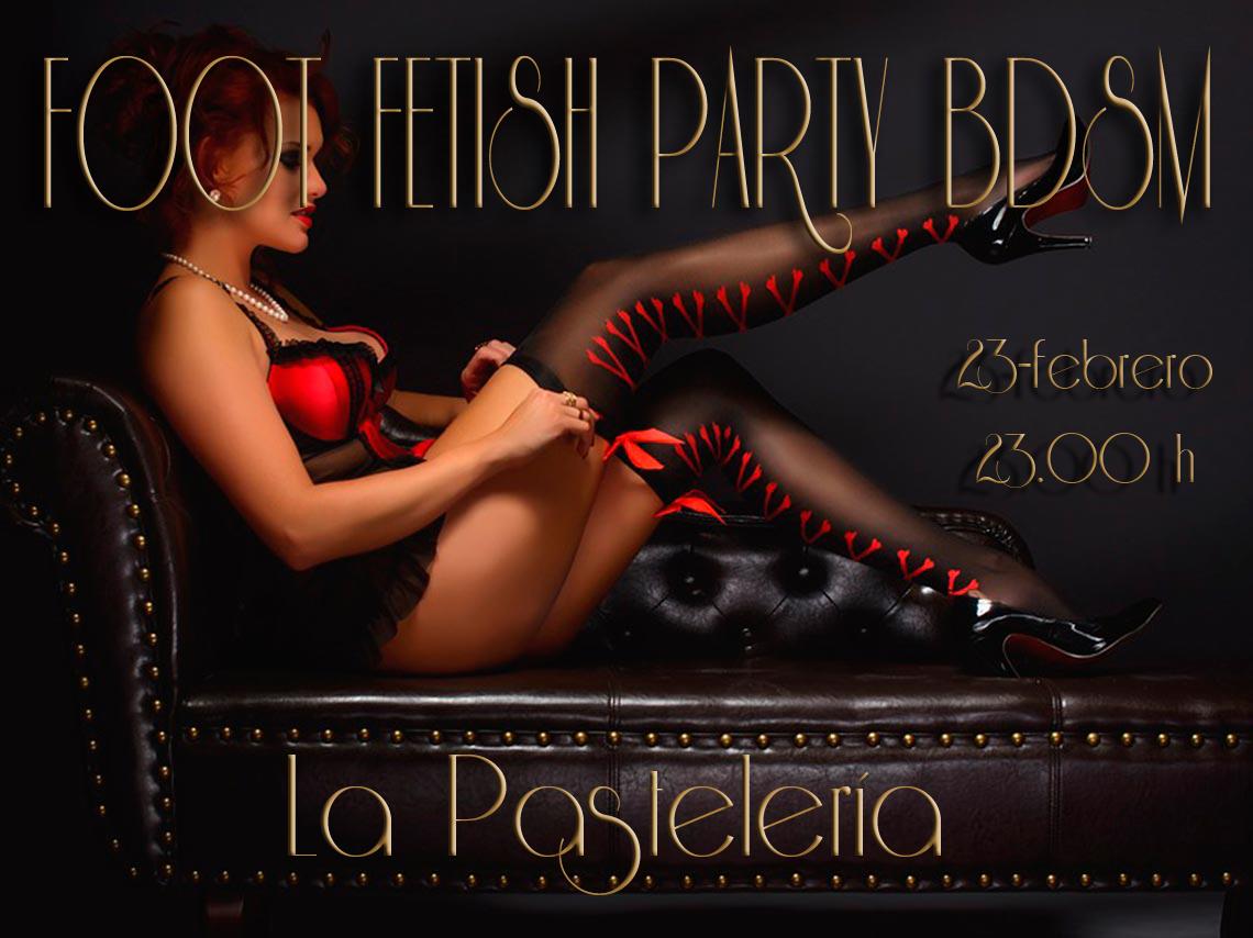 FOOT FETISH PARTY BDSM en La Pastelería-MADRID @ La Pastelería | Madrid | Comunidad de Madrid | España