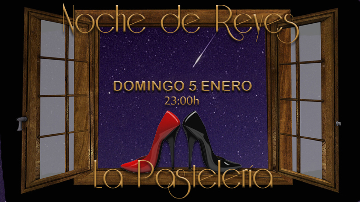 NOCHE DE REYES y AMIGO INVISIBLE en LA PASTELERÍA-MADRID @ La Pastelería
