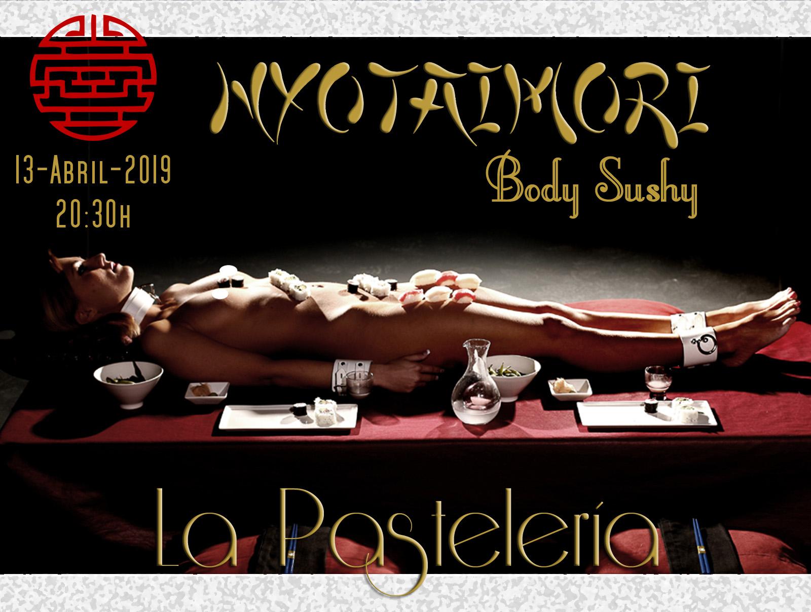 BODY SUSHI (nyotaimori) en La Pastelería-Madrid @ La Pastelería