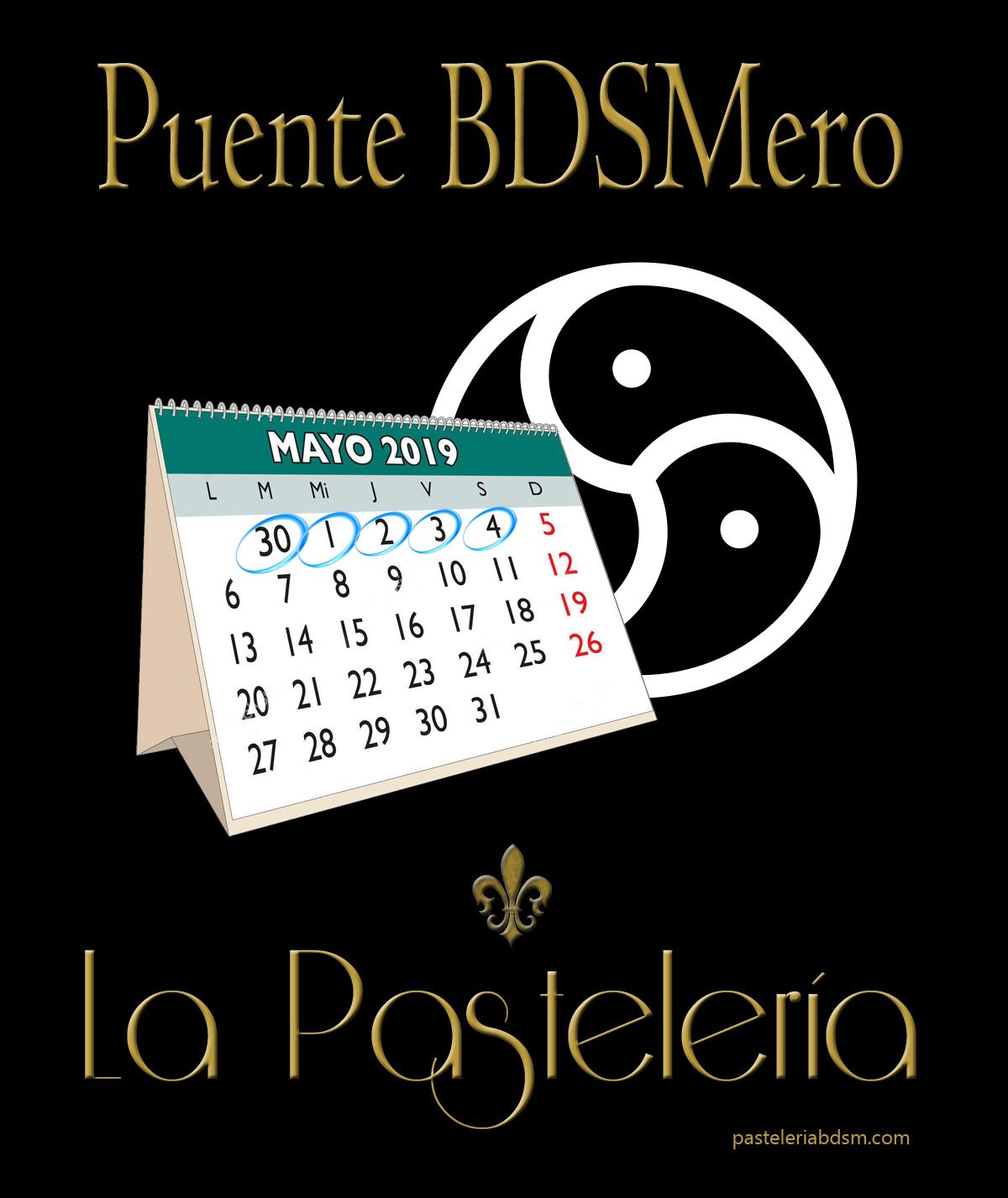 Puente BDSMero en La Pastelería-Madrid @ La Pastelería